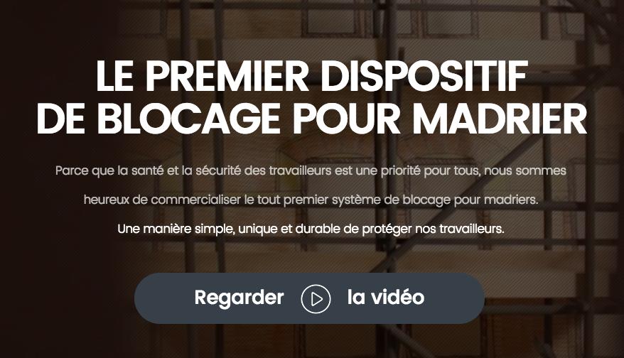 Vidéo - Madrier-Sécur